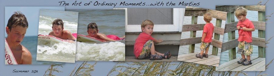 the art of ordinary moments