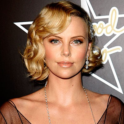 so fab hairstyles: 1920\'s Hairstyles: Charlize Theron