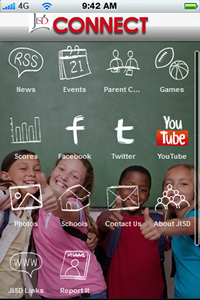 Judson ISD Connect! mobile app