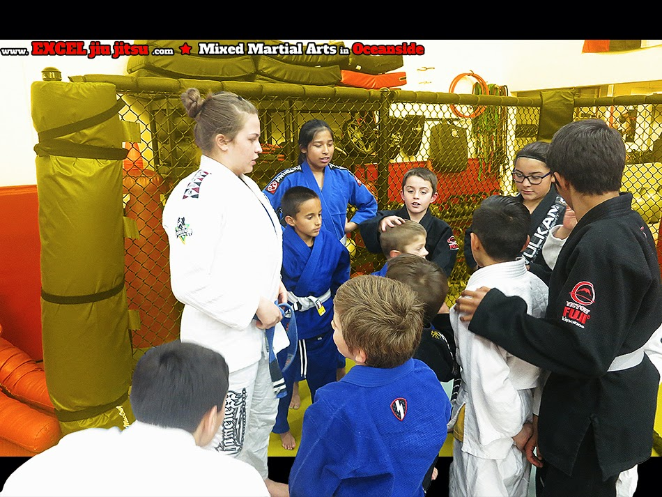 teaching BJJ Martial Arts kids in Oceanside Vista Camp Pendleton self defense Life lessons
