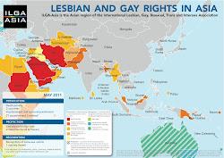 ILGA ASIA Maps