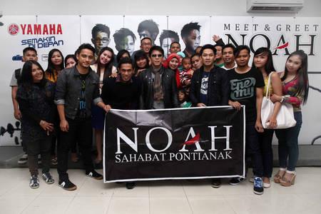 Yamaha Support Konser Noah