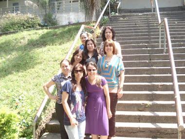 Grupo de colegas da EEEF João Link Sobrinho
