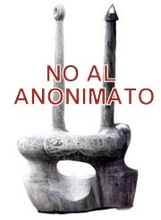 No al anonimato