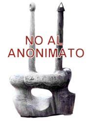 No al anonimato