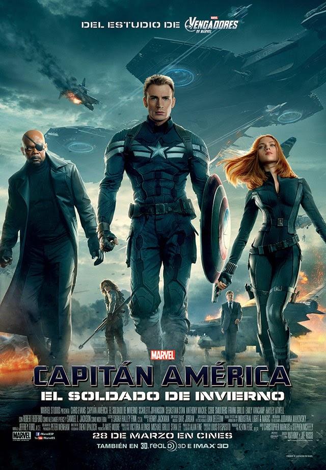 Capitan America 2 (2014) [Dvdrip] [Latino] [1 Link]