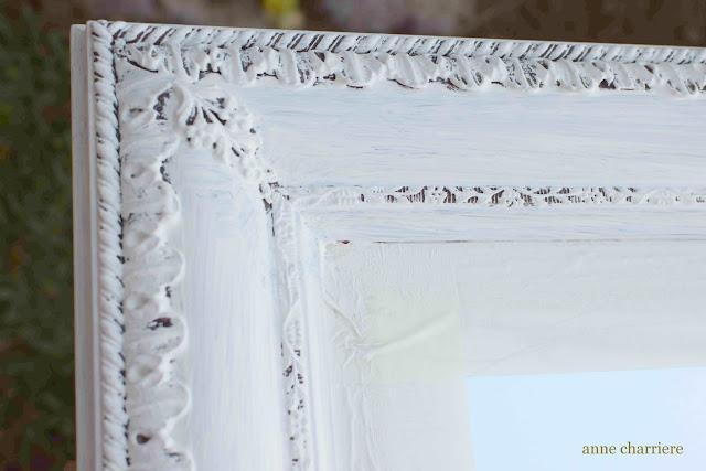 www.annecharriere.com, espejo recuperado, annie sloan pintura,