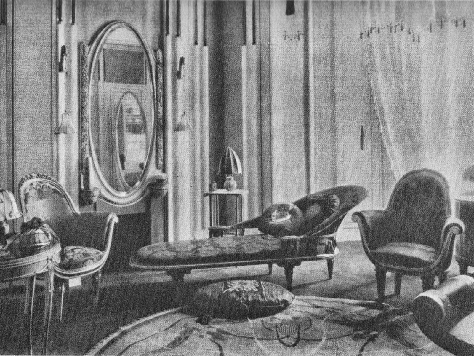 This next design a music room is attributed to paul follot 1924 follot 1877 1941 worked with dufrene at times but is generally not regarded as a