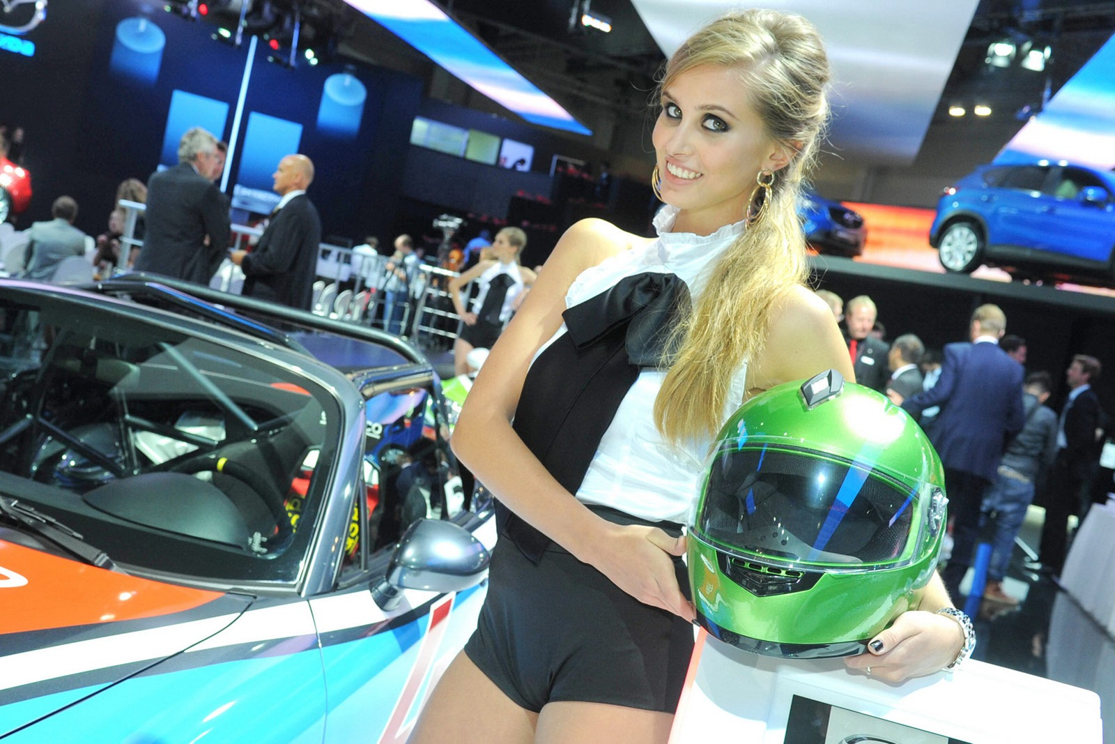 From Russia With Love The Girls Of The Moscow Auto Salon