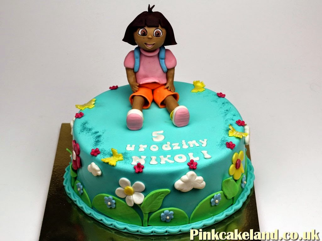 Dora The Explorer Birthday Cakes, UK