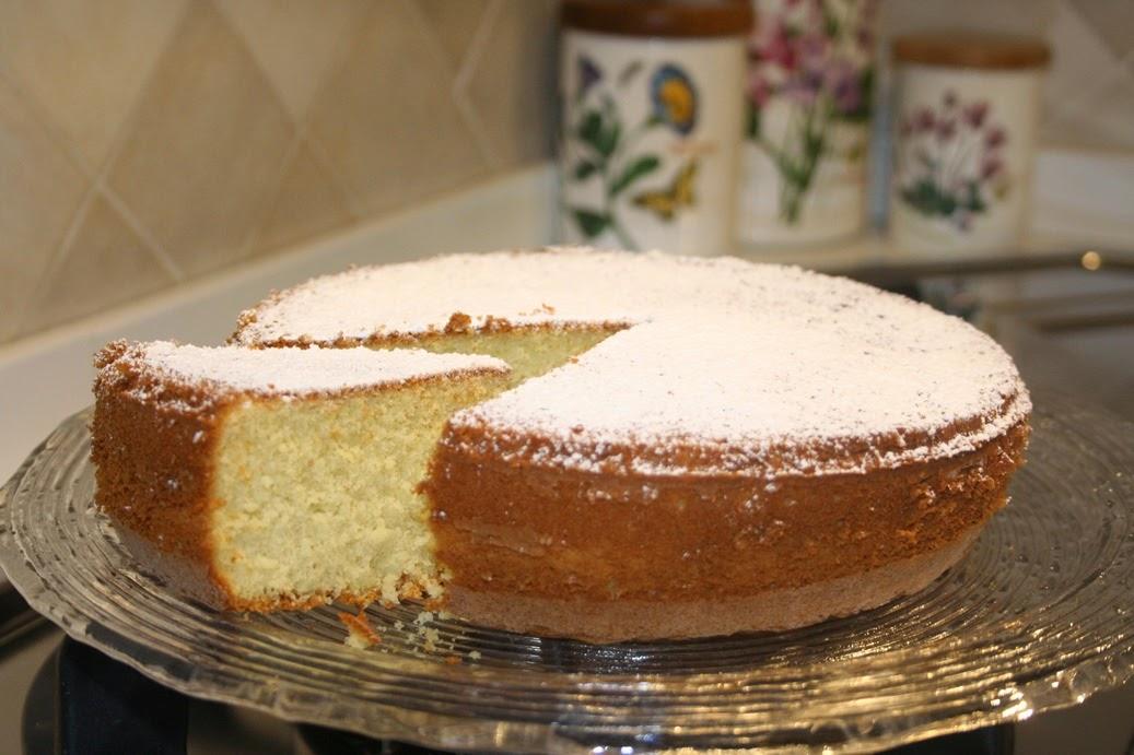 hot milk sponge cake ovvero la torta al latte caldo
