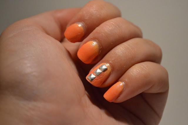 Gradient Nail Art av Elins Naglar