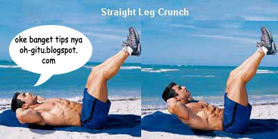 Latihan Six pack Straight Leg oh-gitu.blogspot.com