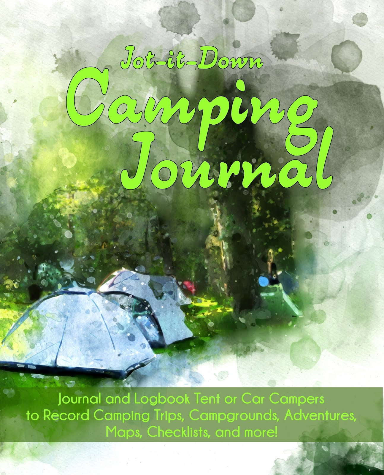 Jot it Down Camping Journal
