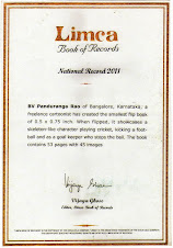 Smallest Flip Book in Limca Book of Records