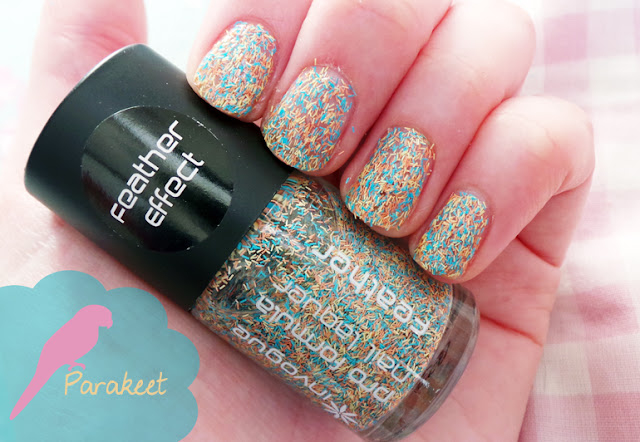 Invogue Feather Effect Parakeet Nail Polish