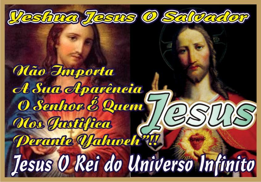 É Jesus, Não Importa Sua Imagem Carnal