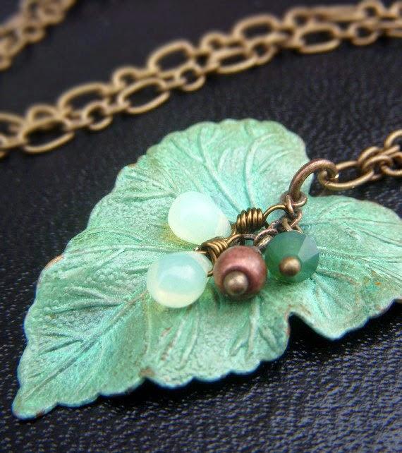 https://www.etsy.com/listing/204177858/patina-leaf-necklace-on-brass-large
