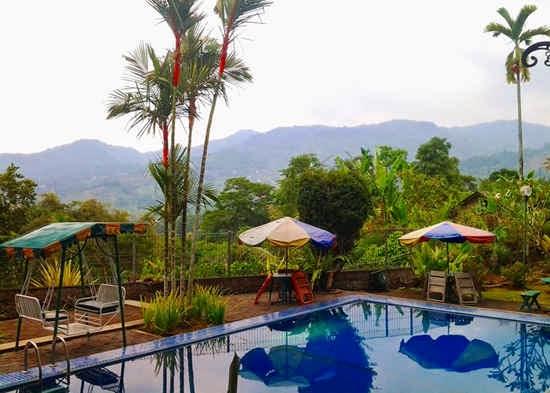 kolam renang Hotel Bonita Puncak