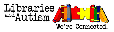 "Logo: ""Libraries and Autism: We're Connected"""