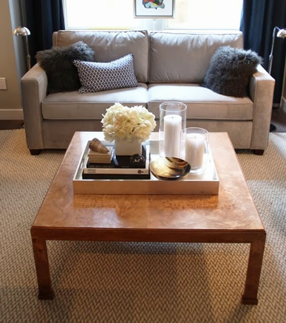 Belle maison five ways to style your coffee table Decorative trays for coffee tables