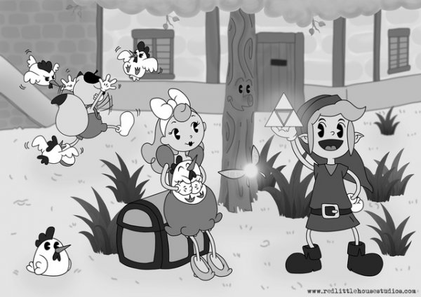 zelda old cartoon