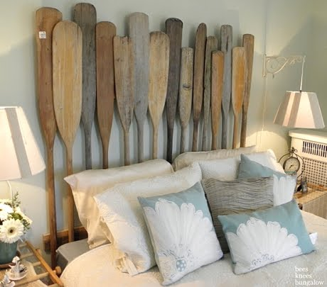 oar headboard