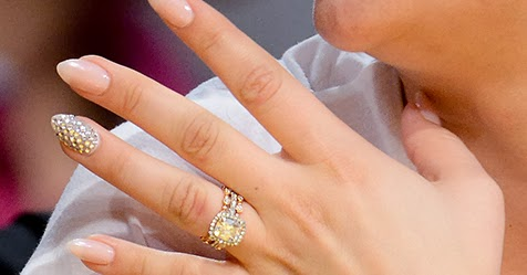 Charmant Celebrity Wedding Bling: Kaley Cuocou0027s Wedding Rings And Cake   Bright Talk  From Goldsteinu0027s