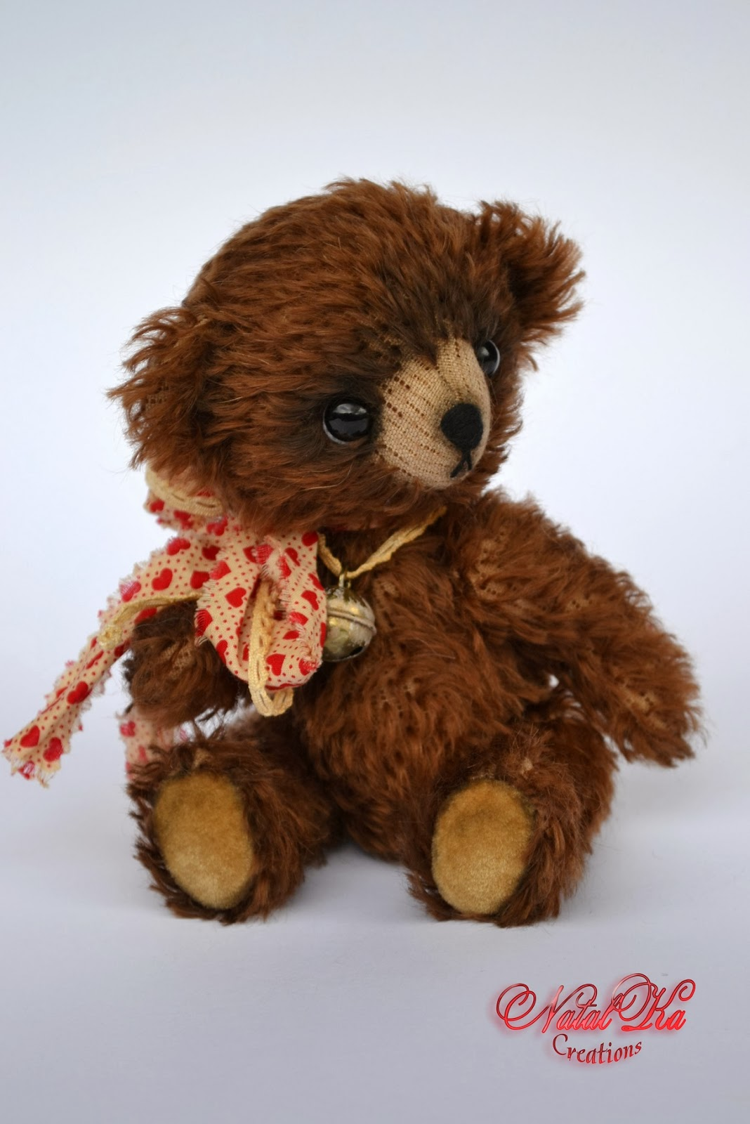 Künstler Teddybär handgemacht von NatalKa Creations