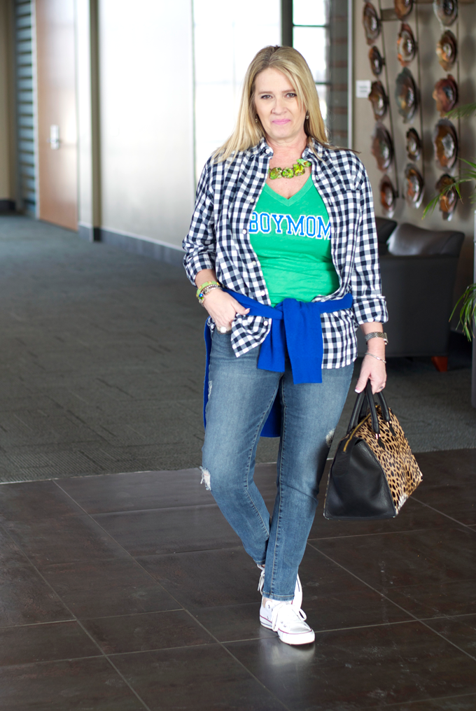 green-and-blue-plaid-oufit