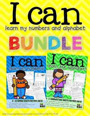 https://www.teacherspayteachers.com/Product/I-can-learn-the-alphabet-and-numbers-BUNDLE-PreK-and-Kindergarten-1372539