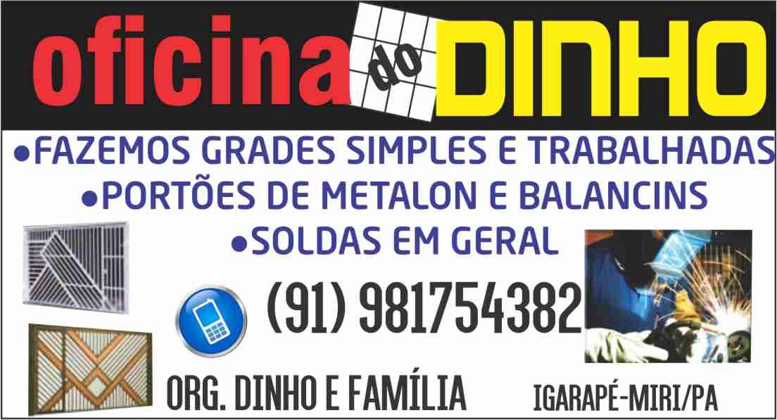 OFICINA DO DINHO
