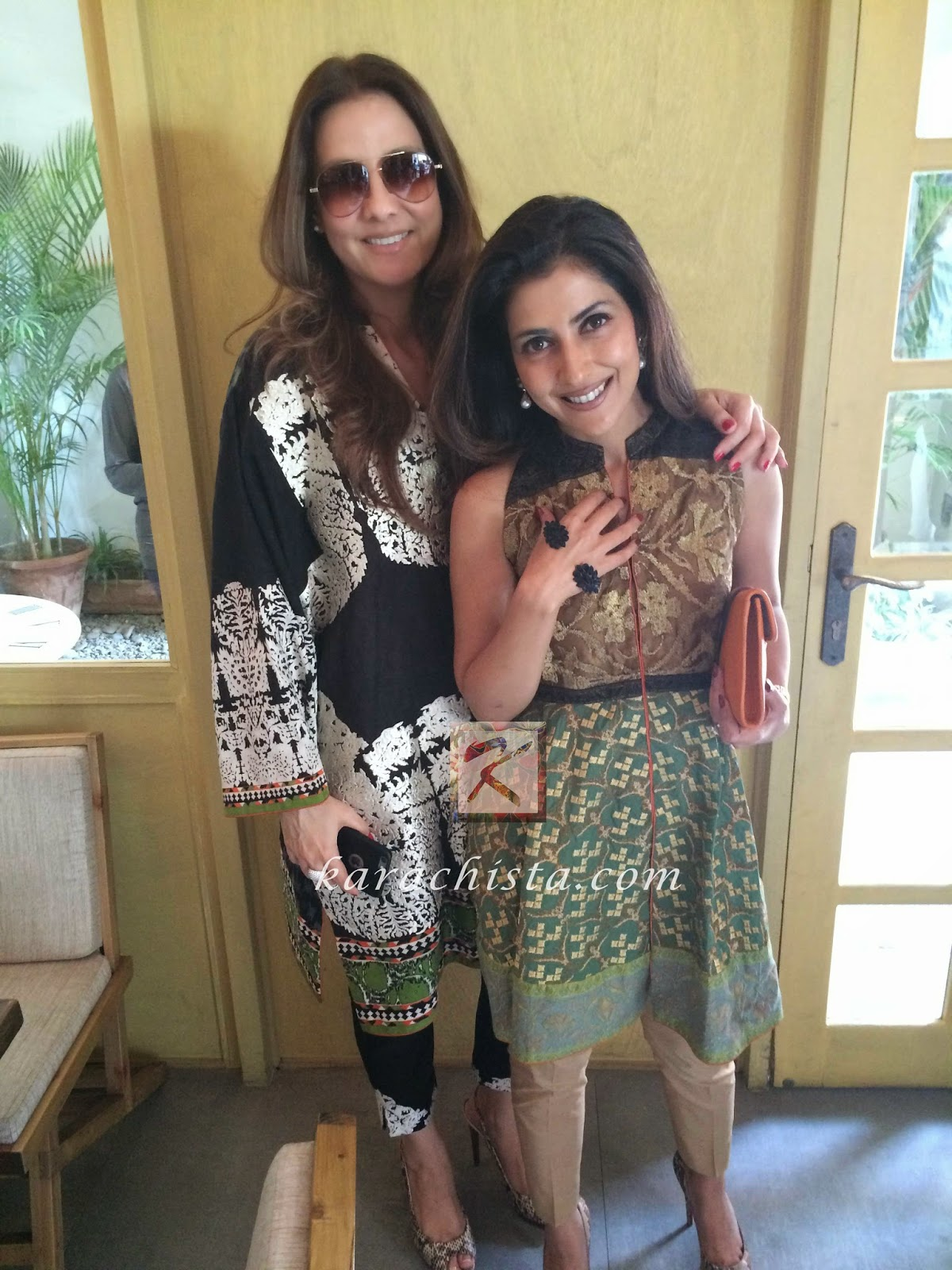 Safinaz Muneer and Sadaf Jalil