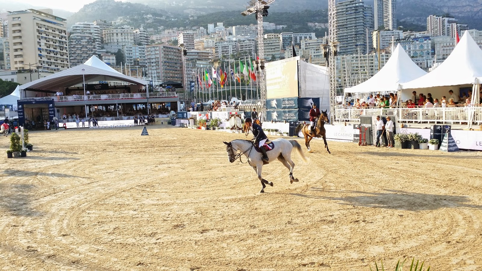 LONGINES Conquest, Global Champions Tour 2014 Montecarlo, cavalli, equitazione, show jumping