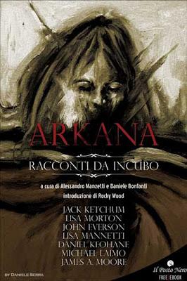 Arkana - Racconti da Incubo, 2011, copertina