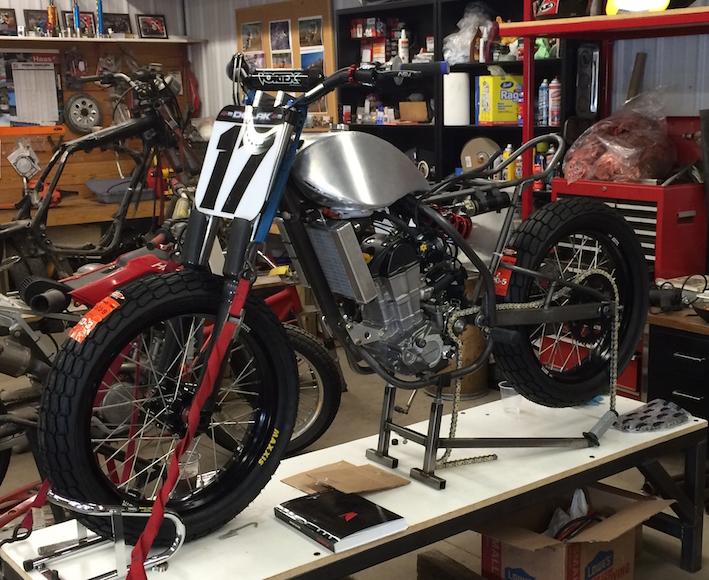 Sideblog JM Honda CRF450