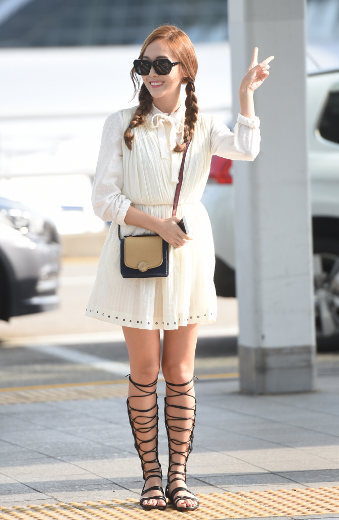 Jessica Jung Airport Fashion 2015