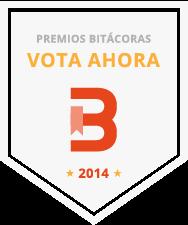 ¡Vota a SergioOpina en los X Bitácoras!