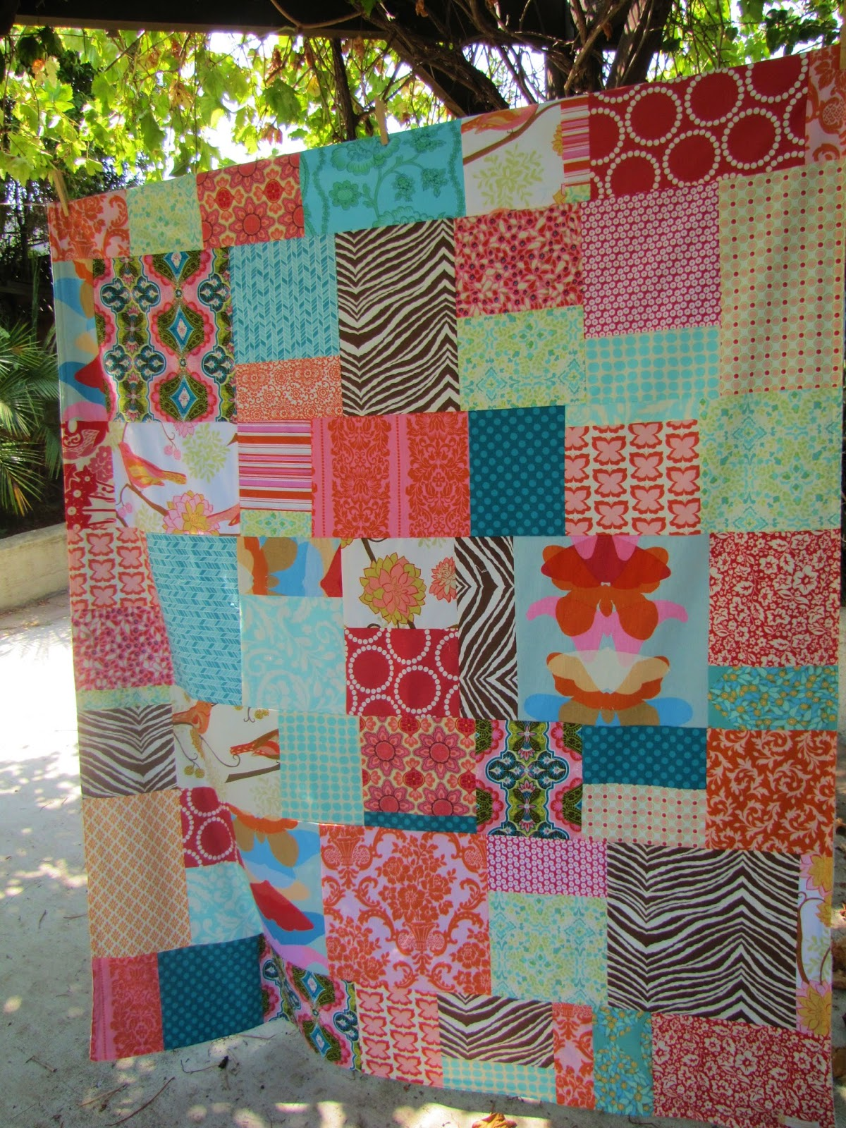 Moniques Stitches Quilt From Crib Bedding