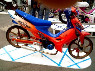 Suzuki Shogun 125 Best Racing Sport Modification Pic