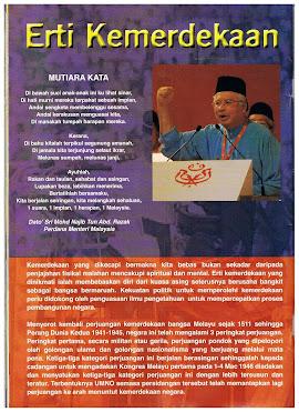 YAB Datp' Sri Mohd Najib Tun Razak