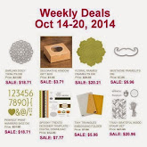 Items on Sale! Oct 14 to Oct 20