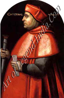 The king's minister, Cardinal Wolsey was the dominant figure in English government from 1515 to 1529. His failure to secure Henry's divorce sealed his downfall, and he died while under arrest.