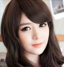 Model Rambut Wanita Sebahu Ala Korea 29
