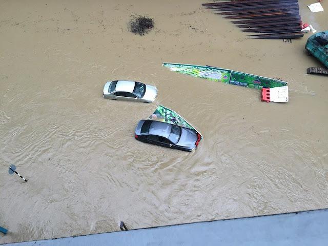 Banjir Di Johor Bahru3