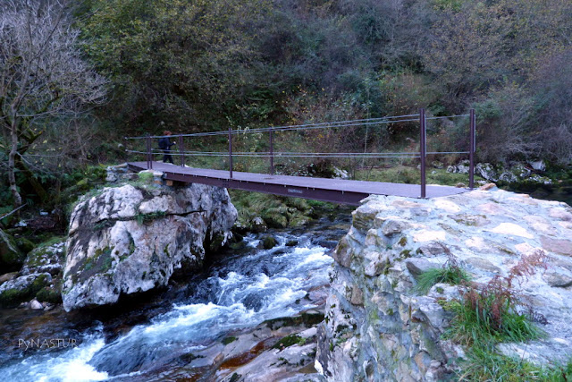 Puente de Los Mineros - Ruta del Río Casaño -  Asturias