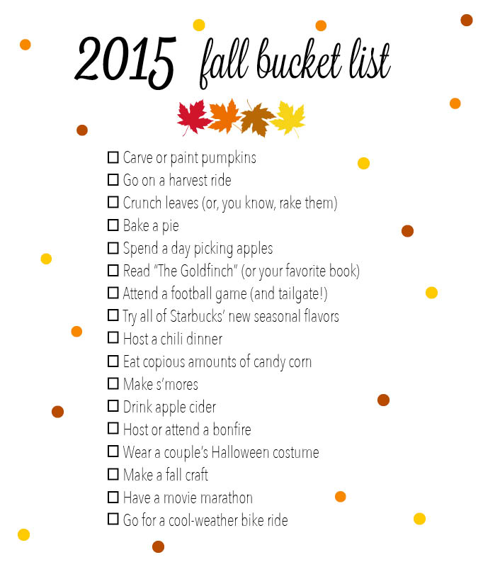 17 things to do this fall