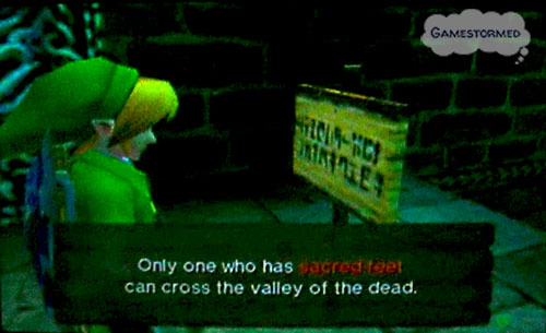 Zelda Quotes Fascinating Gamestormed Video Game Quote Of The Week October 31St 2011