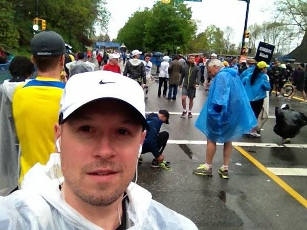 Vancouver Marathon 2014 starting corral
