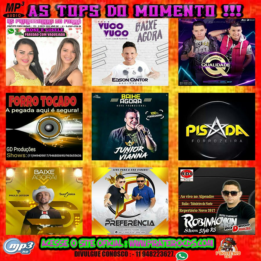 MP3 AS TOP´S DO MOMENTO 2018 !!!